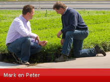 Mark en Peter Leenders